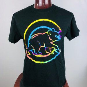 Chicago Cubs Tye-Dye Cubbie Logo L Graphic T Shirt